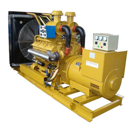 350KW上柴股份柴油发电机组